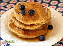 Buckwheat and Blueberry Pancakes